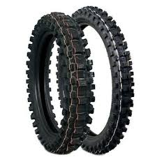 <b>DUNLOP MX33 GEOMAX</b> 70/100-<b>17</b> FRONT 90/100-14 REAR TIRE ...
