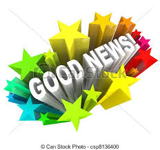 Image result for photo graphic of good news