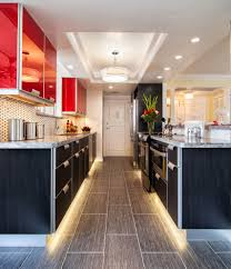 Contemporary Galley Kitchen Contemporary Kitchen Lighting Home Design Interior And Exterior