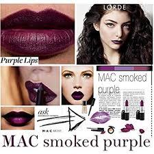 <b>mac</b> pro lipstick collection - matte lipstick - <b>smoked purple</b>
