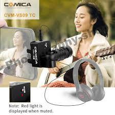<b>Comica CVM-VS09 TC Cardioid</b> Microphone TYPE-C jack Portable ...