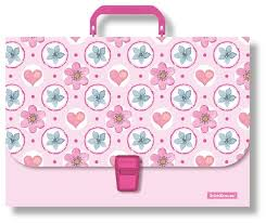 <b>ErichKrause</b> Папка-<b>портфель</b> А4 <b>Pink</b> Flowers — купить по ...