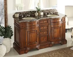 bathroom vanity 60 inch:  interior  inch double sink bathroom vanity home interior paint ideas types of wood for