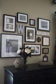 room wall picture frames idea