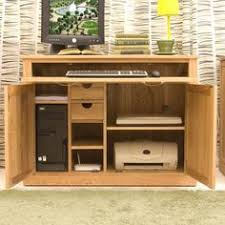 mobel oak hidden home office atlas oak hidden home