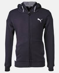 Puma <b>Sportstyle Core Style</b> FZ <b>Hoodie</b> Black | Zando