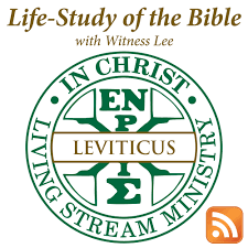 Life-Study of Leviticus with Witness Lee