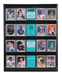 MCS 52894 Collector Card 16x20 <b>Wall Display</b> Holds 20 Sports ...