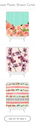 shower radio review guide x: quotflower power shower curtainsquot by polyvore editorial a liked on polyvore featuring quot