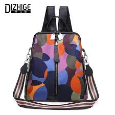 <b>DIZHIGE Brand Luxury Waterproof</b> Oxford Women Backpack ...
