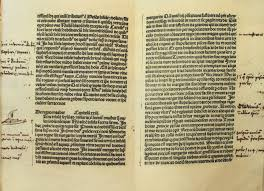 europeans contact others expansion and exploration colombus notes on marco polo s le livre des merveilles bibliotheca colombina seville