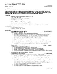 litigation attorney resume