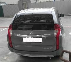 <b>Спойлер крышки багажника</b> — Mitsubishi Pajero Sport, 2.4 л ...