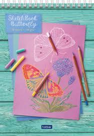 """Цена Скетчбук <b>Hatber</b> """"Butterfly-бабочка"""" бумага 160 г/м2 32 ..."""