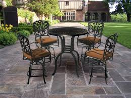 high bar patio dining set cool high bar patio dining set lighting charming counter height patio attractive high dining sets