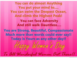 Happy women's day wallpapers quotes 2015
