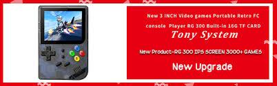 2019 RS97 Portable <b>Video</b> Handheld <b>Game Console Retro</b> 64 Bit 3 ...