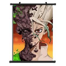 Dr <b>Stone</b> anime HD <b>Print Wall</b> Poster Scroll <b>Home</b> Decor | Wish