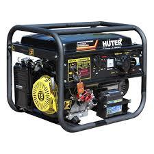 <b>Генератор бензиновый Huter DY9500L</b> — купить в интернет ...