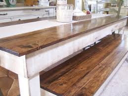 style kitchen table high