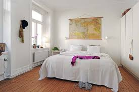 apartment cozy bedroom design:  decoration of small excellent open floor plans ideas of sqm one bedroom apartment cozy white wall small bedroom