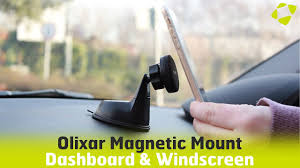Olixar Magnetic <b>Dashboard</b> & Windscreen <b>Mount Universal Car Holder</b>