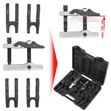 Universal <b>ball joint remover</b> set with changeable forks, 7 pcs ...