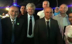 the renaissance of astronomy in baghdad in the th and th from left professor salim al hassani professor david king professor jeffrey hoffman professor hamid al naimiy and professor martin barslow from second