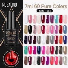ROSALIND <b>7ML</b> 1323-1369 <b>Gel Nail Polish</b> Nail Art UV LED Nail ...