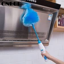 <b>Adjustable Electric Feather Duster</b> Dirt Dust Brush Vacuum Cleaner ...