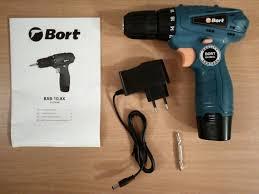 Обзор на <b>Дрель</b>-<b>шуруповерт</b> аккумуляторная <b>Bort BAB</b>-<b>10</b>,<b>8X</b>