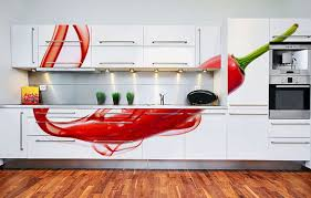 amazing design for vivid color lovers white and red combination in kitchen can give an immense look to your home amazing interior design