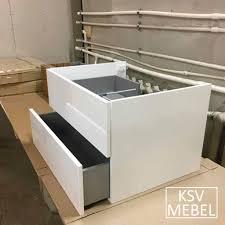 <b>Тумба</b> 90 см под <b>столешницу</b> - КСВ Мебель