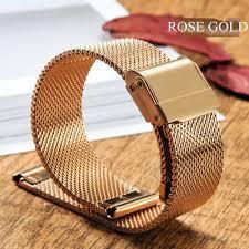 Generic Bracelet de montre à boucle milanaise <b>18mm 20mm 22mm</b> ...