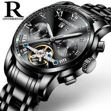 <b>Men'S</b> Watch Genuine <b>RONTHEEDGE</b> Multifunctional Swiss Solid ...