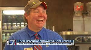 local mcdonald s employee wins top honors local mcdonald s employee wins top honors