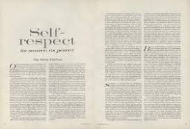 on self respect joan didions  essay from the pages of vogue  on self respect joan didions  essay from the pages of vogue