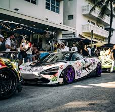 <b>alec monopoly</b> spray paints an exotic mclaren 720S during art basel ...