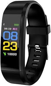 <b>ID115 Plus</b> Fitness Tracker,Smart Watch Sports Bracelet: Amazon.co ...