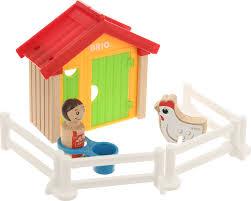 <b>Игровой набор Brio Мой</b> родной дом Курятник, 30305 — купить в ...
