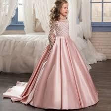 Kids Flower <b>Girls Dresses</b> For <b>Girls</b> Princess <b>Dress elegant</b> Children ...