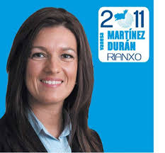 Por primera vez en democracia, el Partido Popular de Rianxo, con Vanessa Martínez Durán como cabeza de cartel, conseguía desbancar del primer puesto en ... - vanessa2011