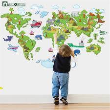 Интернет-магазин Цвет карта мира <b>детские</b> настенные ...