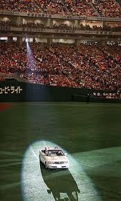 「2013年 - 松井秀喜の引退式と、長嶋茂雄・松井秀喜の国民栄誉賞授与式が東京ドーム」の画像検索結果
