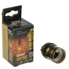 <b>Патрон декоративный</b> Uniel <b>Vintage</b>, без выключателя ...