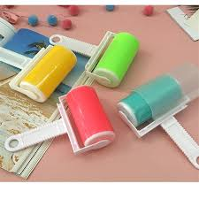 <b>Silicone Lint Sticky Picker</b> Dust Pet Hair Fluff Remover Lint Roller ...