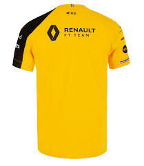 RENAULT F1® TEAM <b>2019 men's</b> t-<b>shirt</b> - <b>yellow</b> - RS F1 Official ...