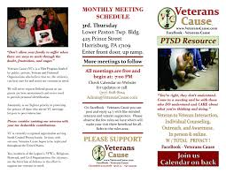 flyers marketing veterans cause veterans cause booth w banner veterans cause flyer front 02272015