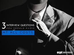 3 job interview questions you should avoid at all costs 3 job interview questions to avoid