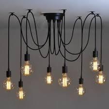 8 bulb retro type chandelier light pendant by sergei zelinsky betty 8 light mason jar